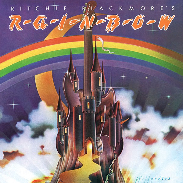 rainbow debut album cover