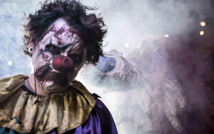 Payasos de Halloween Horror Nights