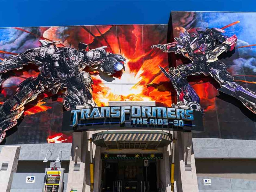TRANSFORMERS The Ride - 3D at Universal Studios Hollywood