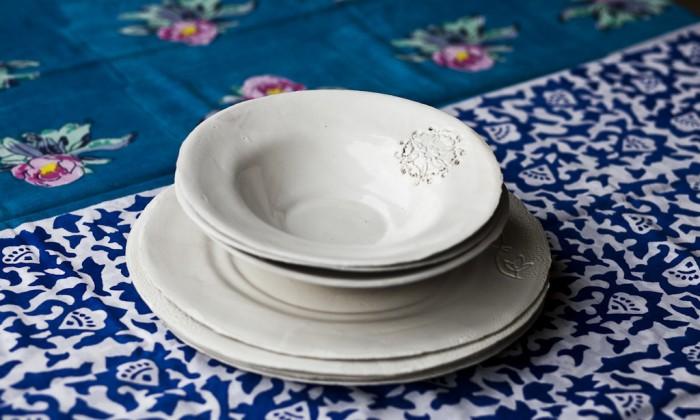 Interiors shabby piatti, tazze & La Tavola E I Piatti Shabby Chic Idee E Suggerimenti