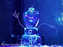 Olaf Frozen Ice Sculpture