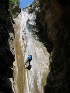 Descente de Canyon - Cascade