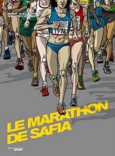 Le Marathon de Safia - Couverture