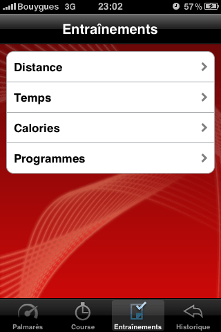 321Run Free - Page programme