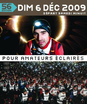 Affiche SaintéLyon 2009