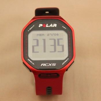 Polar RCX5 - Horloge
