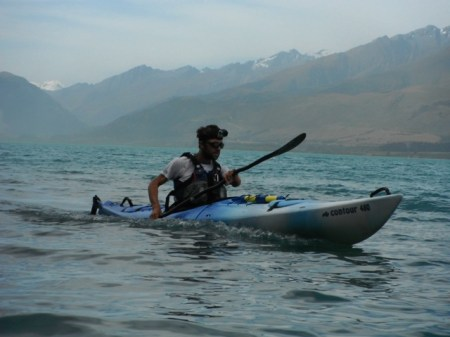 Te Araroa - Jez Bragg - Kayak