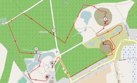 Course des terrils - Les allumés - Parcours