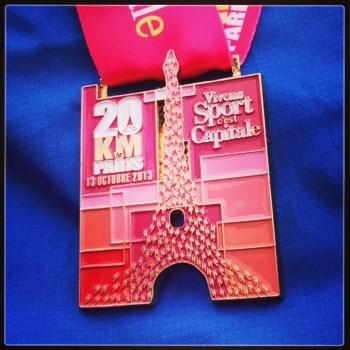 20km de Paris - Médaille