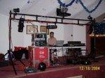 Bad unprofessional DJ setup