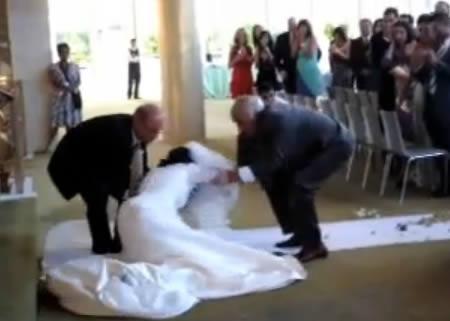 worst wedding fail