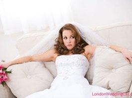 Wedding bride surprise