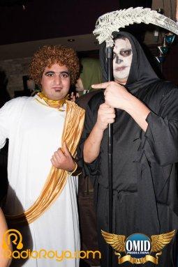 Iranian halloween club party Marlowe