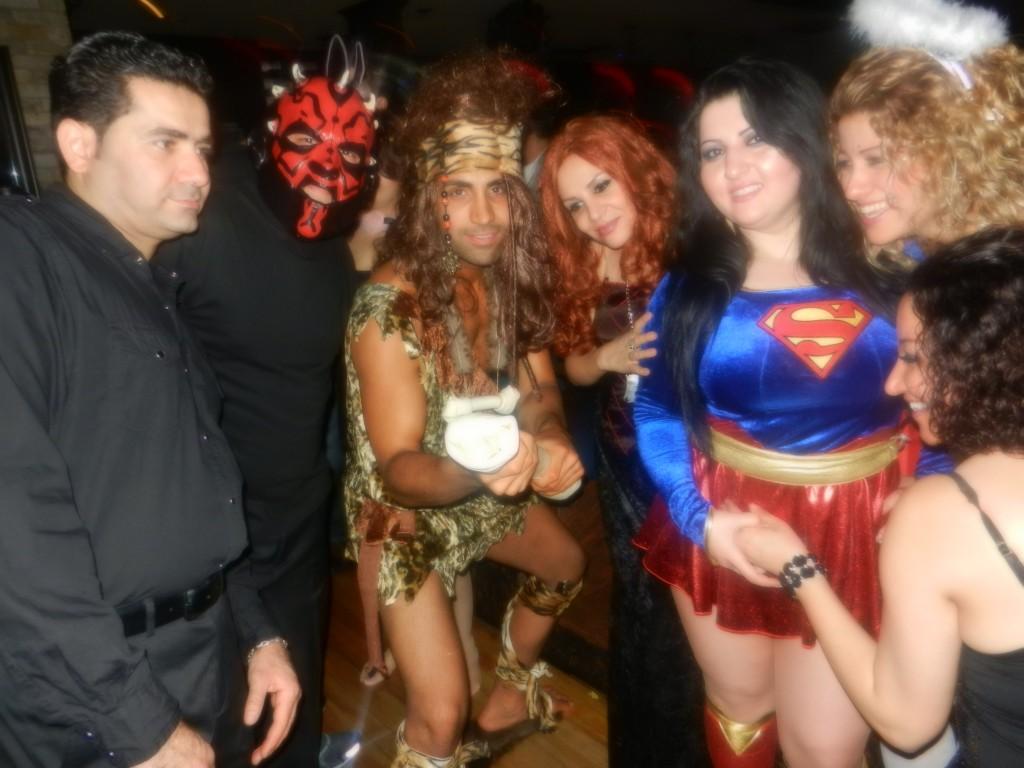 Persian Halloween party 2012