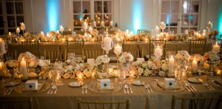 gold wedding ideas - DJ Borhan