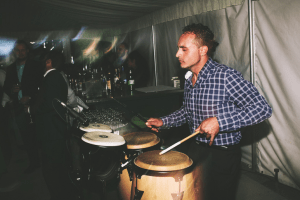 Percussionist for wedding