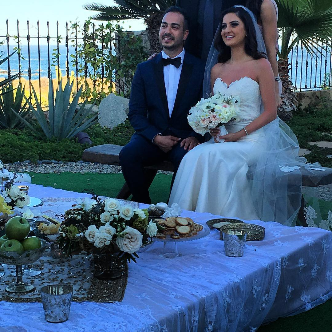Iranian wedding ceremony in Mexico
