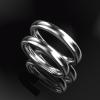 一見 ごく普通の 結婚指輪ですが・・・