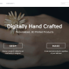 Digitally Hand Crafted Personalized, 3D Printed Products