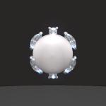 プラチナパールダイヤ入りタイタックです。