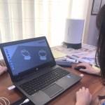 3Dでデザインだけでなく3Dプリンターの使い方も学ぶ。