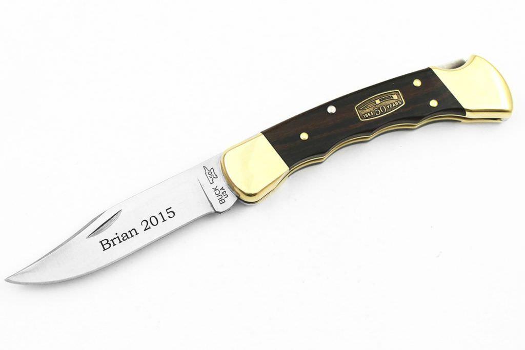 buck-110-finger-groove-engraved-knife