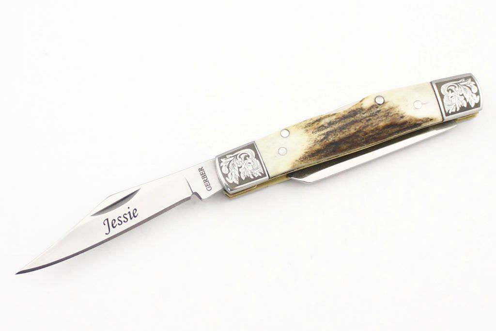 gerber-stag-stockman-engraved-pocket-knife
