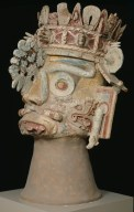 Head of the rain god Tlaloc