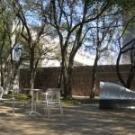 DMA Sculpture Garden seating