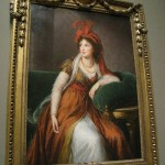 Princess Anna Alexandrovna Galitzin by Elisabeth Louise Vigee-Lebrun, c. 1797 at the Baltimore Museum of Art