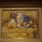 Still Life with Apples on a Sideboard, Paul Cezanne, 1900-1906