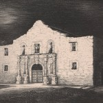 Frank Callcott, The Alamo, Midnight, March 6, 1936, Gift of Professor Dudley F. McCollum, 1939.7