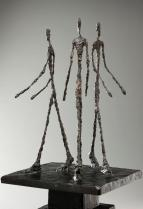 Alberto Giacometti, Three Men Walking, 1948-1949, Dallas Museum of Art, Foundation for the Arts Collection, gift of Mr. and Mrs. Stanley Marcus
