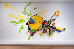 John Hernandez, HI-C Avenger, 1992, acrylic on wood, Dallas Museum of Art, Texas Artists Fund