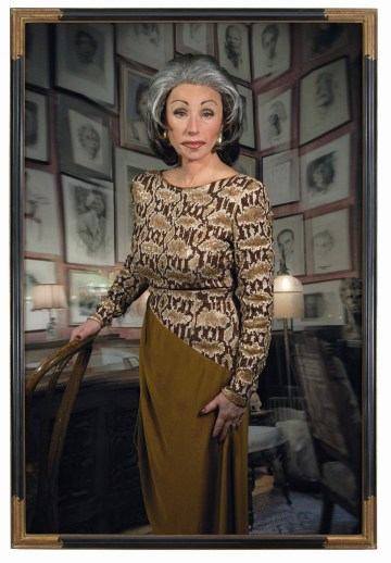 "Cindy Sherman. Untitled #474. 2008. Chromogenic color print, 7' 6 3/4"" x 60"" (230.5 x 152.4 cm). The Museum of Modern Art, New York. Courtesy the artist and Metro Pictures, New York © 2012 Cindy Sherman"