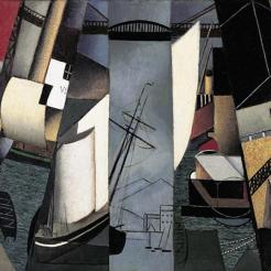 Jean Metzinger, The Harbor (Le Port), 1912, Dallas Museum of Art, gift of the Sara Lee Corporation
