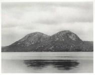 A. Doren, Solarized Mountains, Acadia National Park, Bar Harbor, Maine, 1974, gelatin silver print, Dallas Museum of Art, Polaroid Foundation grant