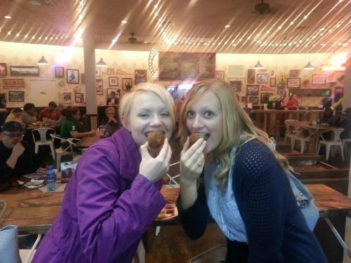 Sarah and Hayley