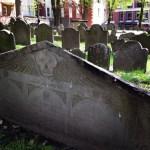 Headstone at Granary Burying Ground