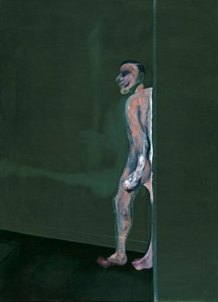 Francis Bacon, Walking Figure, 1959-1960, oil on canvas, Dallas Museum of Art, Foundation for the Arts Collection, gift of Mr. and Mrs. J.O. Lambert, Jr. and Mr. and Mrs. David Garrison © Estate of Francis Bacon / Artists Rights Society (ARS), New York / DACS, London