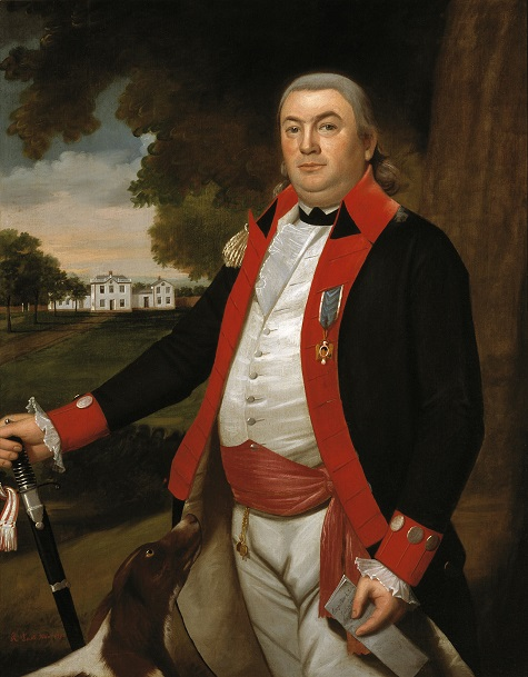 Ralph Earl, Captain John Pratt (1753-1824), 1792, oil on canvas, Dallas Museum of Art, gift of the Pauline Allen Gill Foundation 1990.146.1