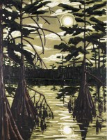 David Bates, Catfish Moon, 1986, Dallas Museum of Art, The Barrett Collection, Dallas, Texas