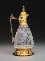 Ewer, Egypt, late 10th–early 11th century, rock crystal; carved; 19th-century gold mount by Jean-Valentin Morel, The Keir Collection of Islamic Art on loan to the Dallas Museum of Art, K.1.2014.1.a–b