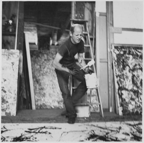 Pollock in Studio