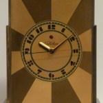 "Paul Frankl, Warren Electric Company, ""Telechron"" mantel clock, designed 1928, Dallas Museum of Art, gift of David T, Owsley via the Alconda-Owsley Foundation, 1994.8"
