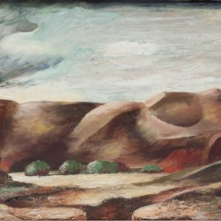Frances Skinner, East of Socorro, 1940, Dallas Museum of Art, Museum League Prize, Eleventh Annual Dallas Allied Arts Exhibition, 1940