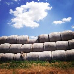 Haystacks in Kansas