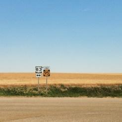 Road signs, Kansas