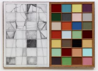 Jim Dine, Self-Portrait Next to A Colored Window, 1964, Dallas Museum of Art, Dallas Art Association Purchase, Contemporary Arts Council Fund.