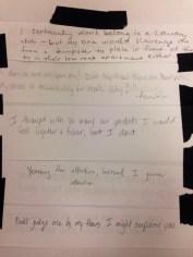 Collaborative poem inspired by Yayoi Kusama.